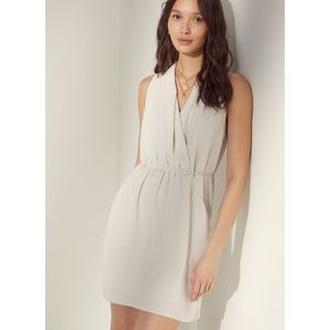 Aritzia Wilfred Sabine dress matte pearl size XXS